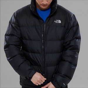 EUC The North Face 550 Down Puffer Jacket Sz L